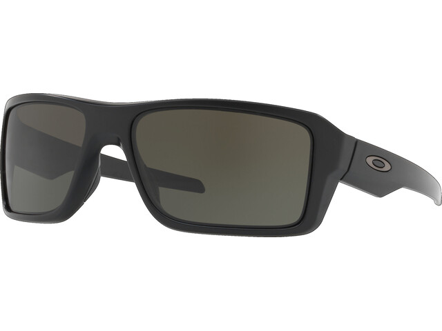 Oakley Double Edge Brille matte black/dark grey